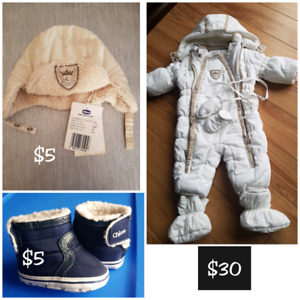 CHICCO WINTER CLOTHES 0-6 M