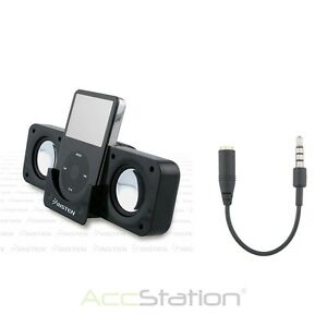 Speaker Dock Station For iPhone 4 iPod Touch 4G Nano 6G