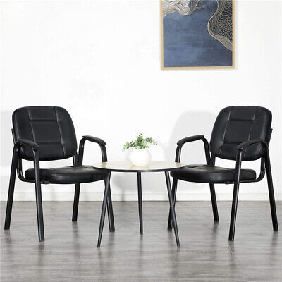 2pcs Home Office Executive Conference Chair Waiting Room Guest Reception -