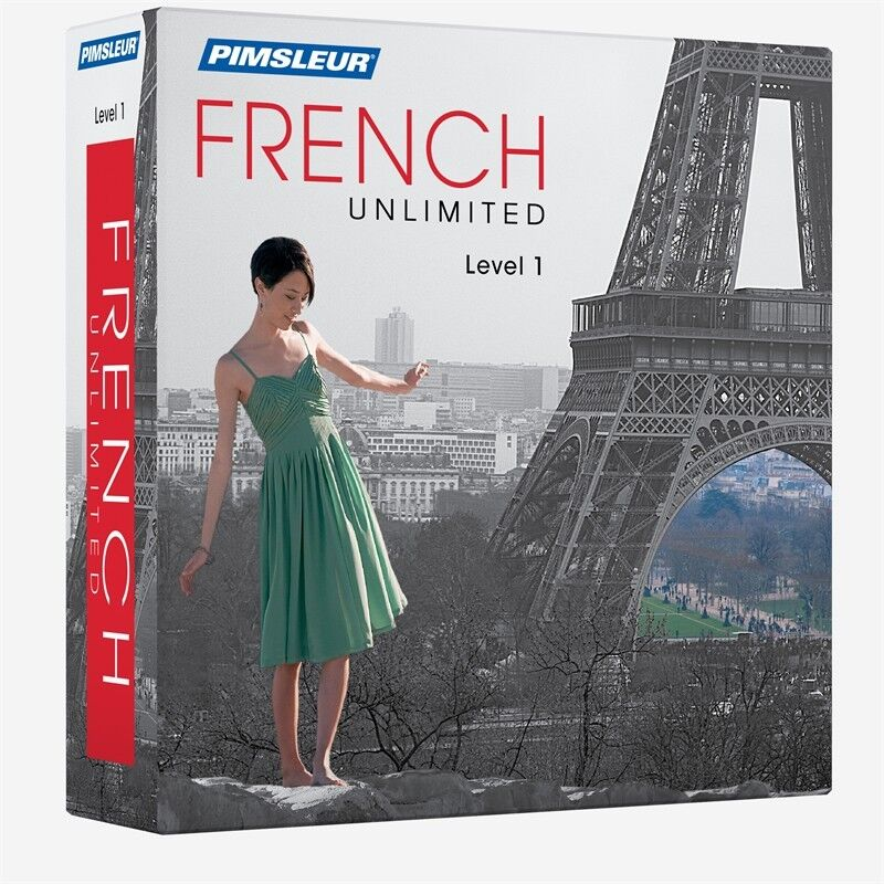 Pimsleur Unlimited FRENCH Language Course 30 Lessons (Level 1) Comprehensive
