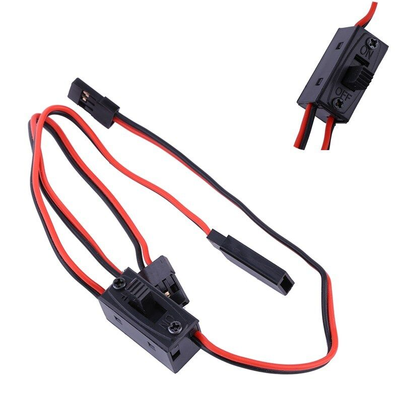3 Way Power On Off Switch Wire Charger Lead Cable For Rc