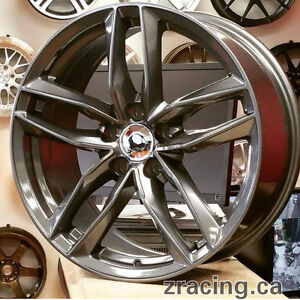 NEW 17 Inch Audi Winter Tires Rims (Blizzak) Zracing 9056732828