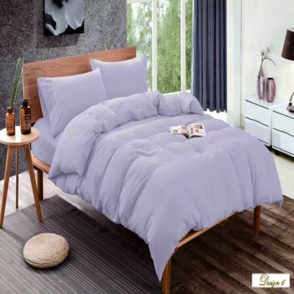 SINGLE bed LIGHT PURPLE Fitted BedSheet + Pillowcase Set ALSO MANY Other BEAUTIFUL COLOURS AVAILABLE