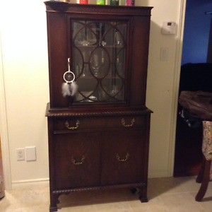 China Cabinet and Side Board