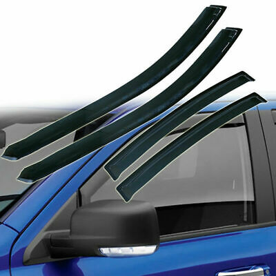 4X Window Vent Visor Rain Guard Deflector For Acura TL 2004 2005 2006 2007 2008 ()