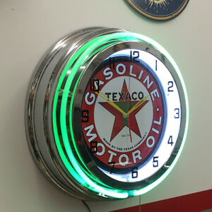AUTOMOTIVE NEON Shop Clocks