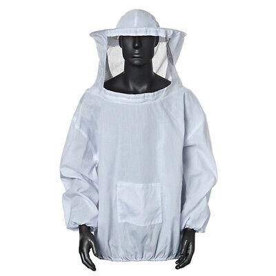 Beekeeper Jacket Veil Smock Equipment Supplies Bee Keeping Hat Sleeve Suit
