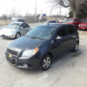 2010 chev aveo only 126km safety+3 month warranty*inc