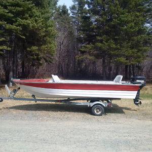 Motor Boat & Motor &  Trailer for sale