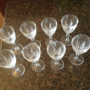 Crystal Glass Goblets