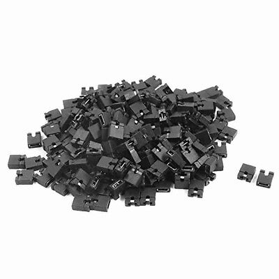200pcs Dvd Hdd Pc Mainboard Pcb Plugs Jumper Caps 2-pin T6e6