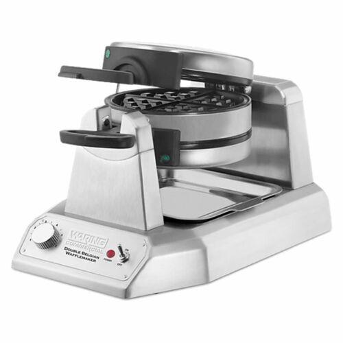 Waring Heavy Duty Double Belgian Vertical Waffle Maker Model WW200