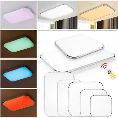 24W-96W LED RGB Ultraslim Deckenleuchte Panel Wohnzimmer Flurlampe Badlampe IP44 Ultra Slim Panel