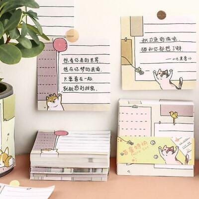 Cute Memo Pad Bookmark Planner Paper Stickers Sticky Notes Stationery Notepads