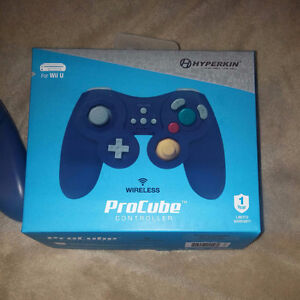 Wii U Hyperkin ProCube Wireless Controller With charging cable