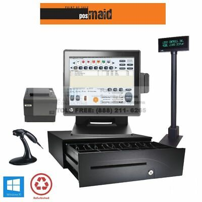 Convenience Store Pos Complete System Wretail Maid Software - 4gb 2.8 Cpu Ssd