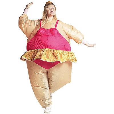 Kostüme für Erwachsene: Selbstaufblasendes Kostüm - Ballerina Kostüme