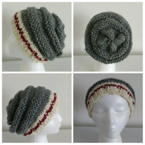 Stay warm with this handknit, ROOTS inspired slouchie hat!