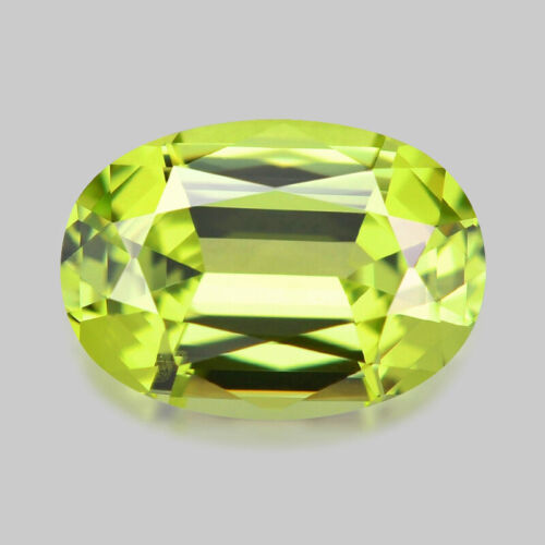 0.94cts MASTER OVAL CUT NATURAL NEON GREEN CHRYSOBERYL VIDEO IN DESCRIPTION