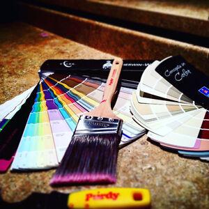 J'offre mes services de peintre, 150$/ par pieces 2 couches