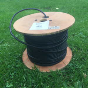 Southwire (USA) RG6  COAX Wire Cable, black, about 350 ft.