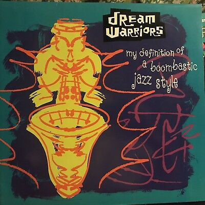 DREAM WARRIORS • My Definition Of A Boombastic Jazz Style • Vinile 12 Mix • (Fashion Collection Definition)