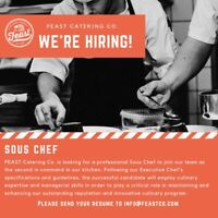 Sous Chef and Cooks