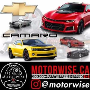 Chevy Camaro Performance Parts | Shop online at www.motorwise.ca