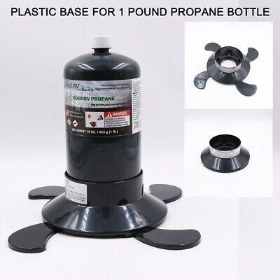 Propane Cylinder Bottle Tank Base for 1lb Tank 16.4 oz Bottle