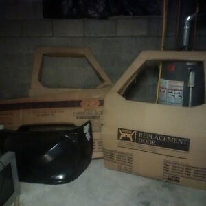 doors and fender for 82 chev K10