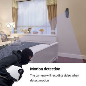 HD Motion Detection Spy Clothes Hook Hidden Camera