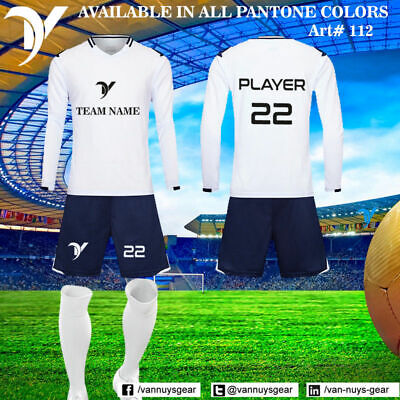 84e10548b 15 CUSTOM TEAM WEAR CLUB FOOTBALL SOCCER UNIFORM KIT SETS JERSEY WHOLESALE