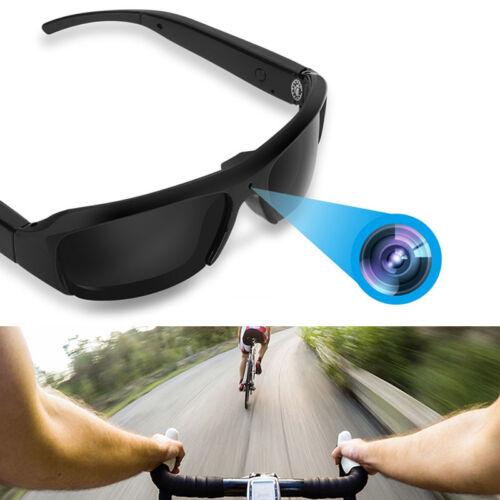 1080P Spion Videobrille Sonnenbrille 5MP verstecke Kamera HD AVI 30fps Brille GD
