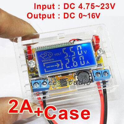 Digital Lcd Dc-dc Step-down Voltage Regulator Buck Power Supply 5v 6v 9v 12v 2a