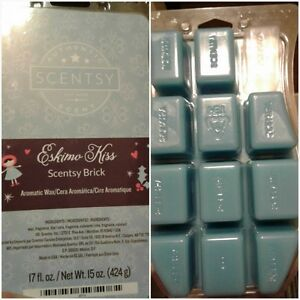 Scentsy's Eskimo Kiss in brick form - minus one block