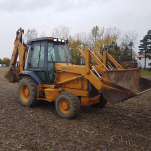 WANTED CASH today for full size backhoe 4x4 1987 or newer