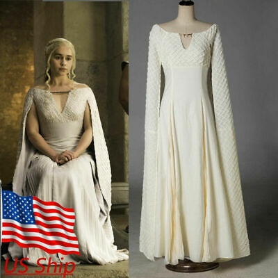 Cosplay Game Of Thrones Daenerys Targaryen Qarth Dress Costume Halloween Props - Game Of Thrones Costume Halloween