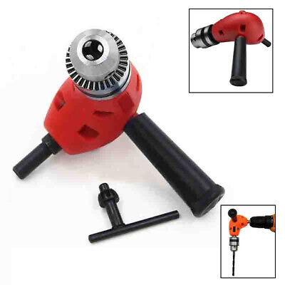 90 Degree Electric Right Angle Drill Tool Extension Attachment Chuck Adapter B9
