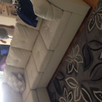 Sectionnel beige a vendre
