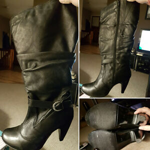 Women's boots with heel