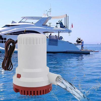 SEAFLO Marine Bilge/Sump Pump 2000GPH 12v Unlike Rule 1500gph - 4 Year Warranty! ()