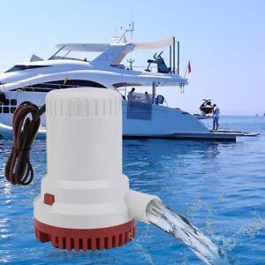 SEAFLO Marine Bilge/Sump Pump 2000GPH 12v Unlike Rule 1500gph - 4 Year Warranty!