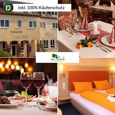 4 Tage Urlaub in Silz im Pfälzer Wald im Hotel Zur Linde mit Halbpension