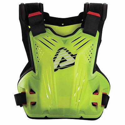 ACERBIS IMPACT MX CHEST PROTECTOR FLO YELLOW FLUO MOTOCROSS ENDURO BODY ARMOUR