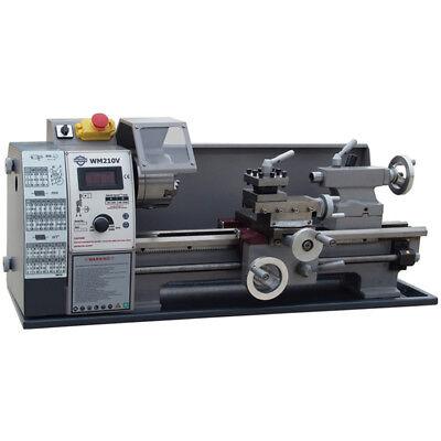 Wm210v-g Metal Lathe Brushless Motor Machine Stepless Variable Speed