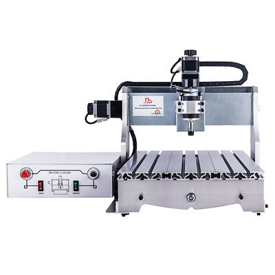 New 300w Ball Screw 3040 Cnc Router Mini Wood Engraver Engraving Milling Machine