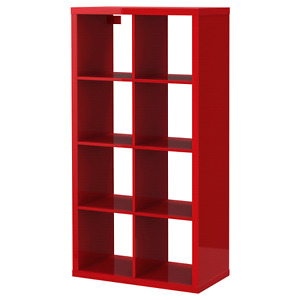 Gorgeous Red Shelving Unit