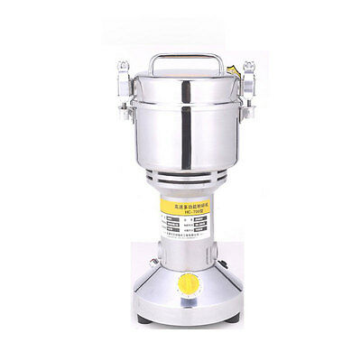 Portable Grain Mill Chinese Herbal Medicine Grinder Kitchen Cooking Machine 700g