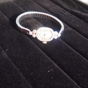 Just Reduced: Ladies 14kt White Gold Diamond Longines Watch