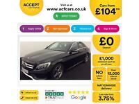 Mercedes-Benz C250 FROM £104 PER WEEK!